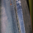 Abstract detail of jeans — Stock Photo