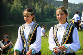 Tatar girls — Stock Photo