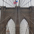 Stock Photo: Brooklyn Bridge, NY