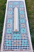 Outdoor Saadian tomb — Stock Photo