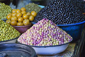Photo of different types of olives — Stock Photo
