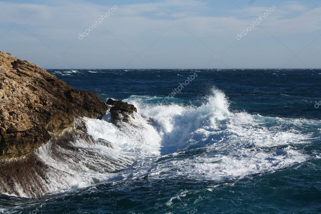 Cove of port d allon — Stock Photo #10124068