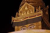 Swayambhu stupa — 图库照片
