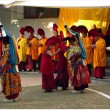 Himalayas faces LO-sar (lama dance) — Stockfoto
