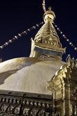 Buddhist architecture ( Swayambhu, Nepal ) — 图库照片