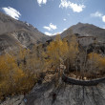 Himalayas architecture (Ladakh) — Stock Photo #10290493