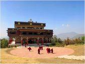 Himalayalar mimarisi — Stok fotoğraf