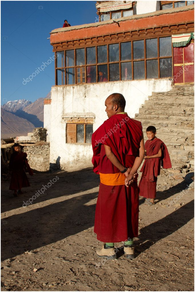Himalayas architecture (Ladakh) — Stock Photo #10292206