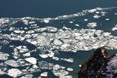 Mistery of Baikal ice — Stock Photo