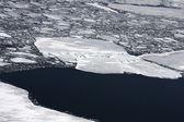 Mistery of Baikal ice — Stockfoto