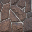 Texture of stone wall - Foto Stock