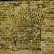 Stock Photo: Old brick wall texture