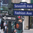 Stock Photo: New york sevent ave