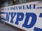 Policía de nueva york — Foto de Stock