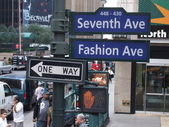 New york sevent ave — Stock Photo