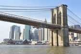 New York Brooklyn bridge — Stock Photo