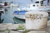 Boat knot marine — Stock Photo