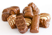 Chocolate candy assorted — Stock Photo