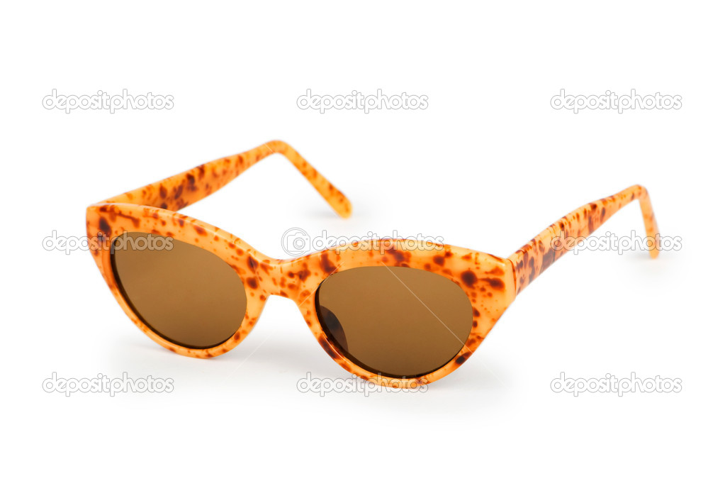 Sunglasses isolated on the white — Stock Photo #10143990
