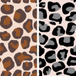Royalty-Free Stock Vector Image: Leopard seamless pattern