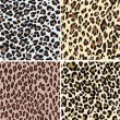 Seamless fashion animal skin textile — Vector de stock
