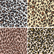 Seamless fashion animal skin textile — Stock vektor
