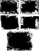 Grunge texture border — Stock Vector
