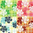 Stock Vector: Floral background