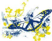 Ilustração de fantasia borboleta — Vetorial Stock