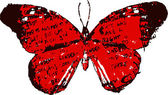 иллюстрация бабочки — Cтоковый вектор