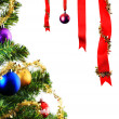 Christmas decoration with space for your design or text — Stock Photo