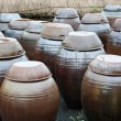 Stock Photo: Traditional korekimchi pots