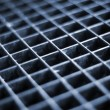 Stock Photo: Aluminum grid