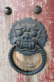 Oriental door handle — Stock Photo