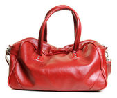 Red bag — Stock Photo