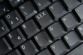 The sex key — Stock Photo