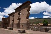 Ruiny świątyni w peru — Zdjęcie stockowe