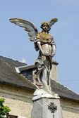 Scultura di angelo, Francia — Foto Stock