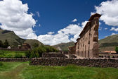 Ruins of temple in Peru — Stock Photo
