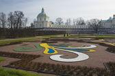 A beautiful Oranienbaum palace — Stock Photo