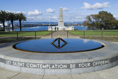 Perth ANZAC War Memorial in Kings Park — Stock Photo
