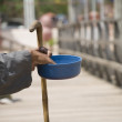 Blind Man Begging — Stock Photo #10707915