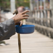 Blind Man Begging — Stock Photo #10707976