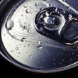 Cold drinks can, top view — Stock Photo #10265886