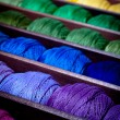 Rainbow threads — Stock Photo