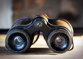 Vintage binoculars — Stock Photo