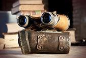 Binoculares vintage — Foto de Stock