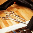 Hairdresser's tools — Stock Photo