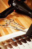 Hairdresser's tools — Stock Photo