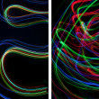 Stock Photo: Light painting backgrounds